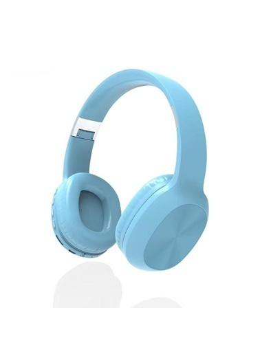 Bludfire Studz Kd48 Bluetooth 5.0 Fm Radyo Tf Kart Destekli Kulaküstü Kulaklık Mavi